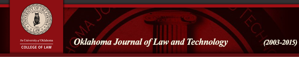 Oklahoma Journal of Law and Technology
